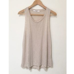 NWOT UO Project Social T Cream Tank Top